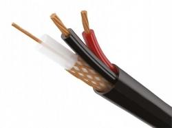 КВК-П  2х0.5мм (12V)  Plexus 100 м/4  черный