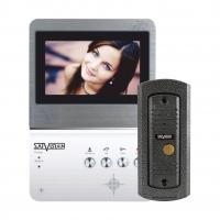 Видеодомофон SVM-403 Home (готовый комплект панель монитора + вызывная панель)